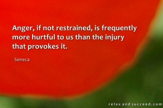 603 Relax and Succeed - Anger if not restrained