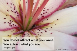 614 Relax and Succeed - You do not attract