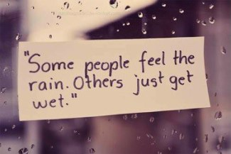 628 Relax and Succeed - Some people feel the rain