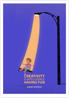 639 Relax and Succeed - Creativity is intelligence having fun