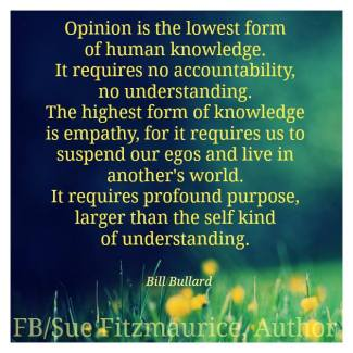 674 Relax and Succeed - Opinion is the lowest form of human knowledge
