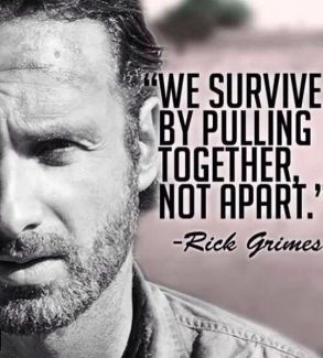684 Relax and Succeed - We survive by pulling together