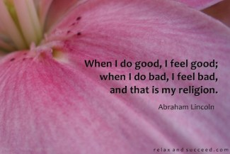 748 Relax and Succeed - When I do good