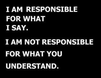 804 Relax and Succeed - I am responsible for what I say