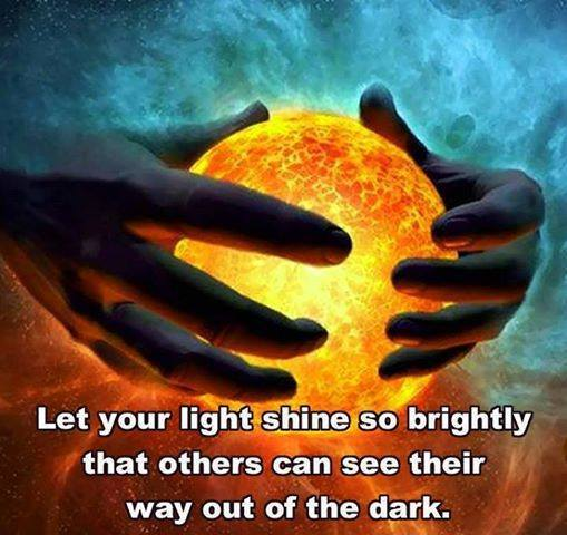 845 Relax and Succeed - Let your light shine so brightly