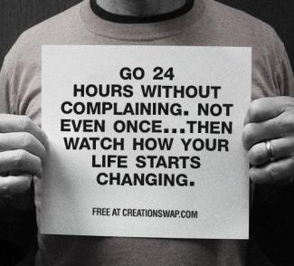 865 Relax and Succeed - Go 24 hours without complaining