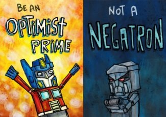 871 Relax and Succeed - Be an optimist prime