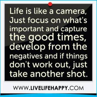 918 Relax and Succeed - Life is like a camera