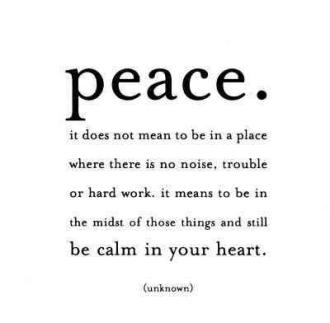 942 Relax and Succeed - peace it does not mean