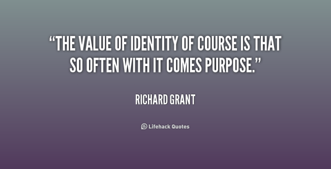 1137 Relax and Succeed - The value of identity