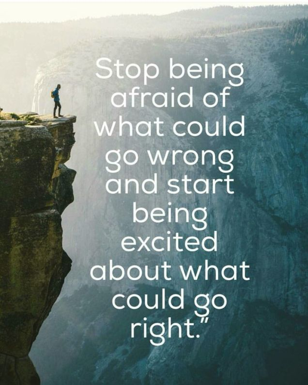 1243 - Relax and Succeed - Stop being afraid