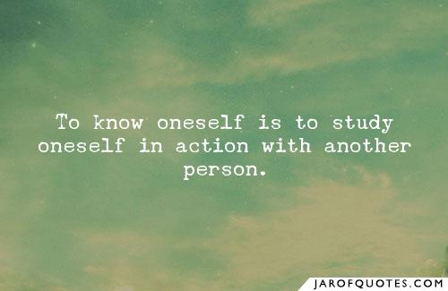 1249 Relax and Succeed - To know oneself