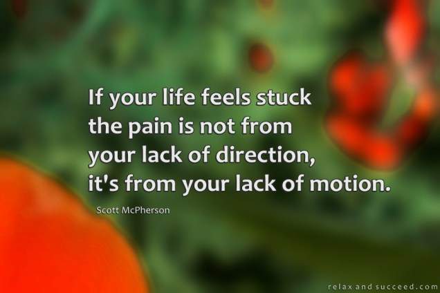1250 Relax and Succeed - If your life feels stuck