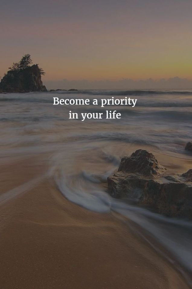 199 Relax and Succeed - Become a priority in your life