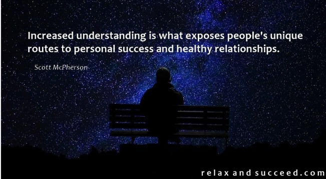 1384 Relax and Succeed - Increased understanding is what exposes