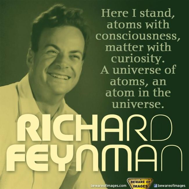 1404 Relax and Succeed - Here I stand atoms with consciousness