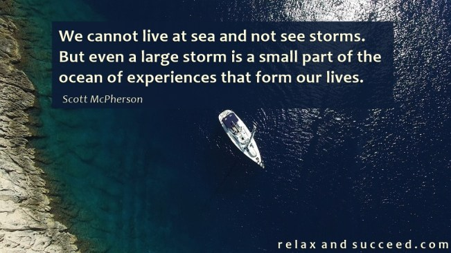 1455 Relax and Succeed - We cannot live at sea