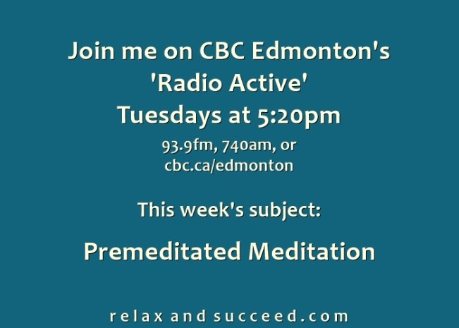 1484 Relax and Succeed - CBC announcement
