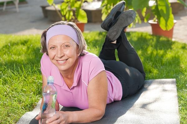 Boire de l'eau pour rester en bonne santé