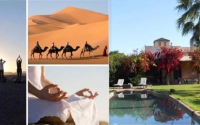 La Caravane de la Présence et de la Joie entre le sud du Désert Marocain et les Jardins d'Eden à Marrakech du 23 février au 2 mars 2020
