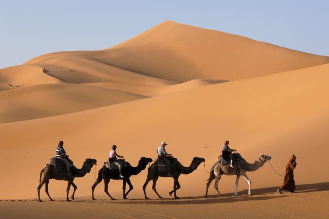 Méditation - Marche dans le désert