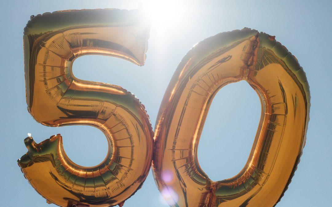 Changement du corps homme - Avoir 50 ans