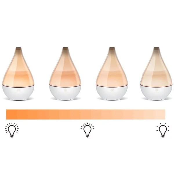 éclaire du vase diffuseur