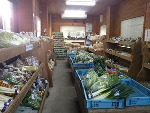 別の建物内の野菜室の写真