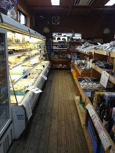 店内の雰囲気奥の写真
