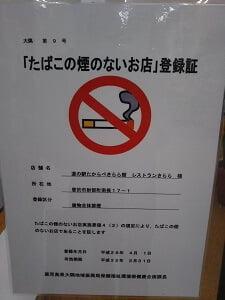 建物内禁煙の写真