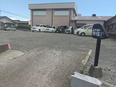 四季膳桜花(さくら)の向かいの駐車場の写真