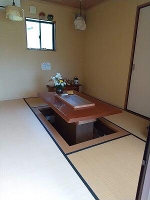 香林の和室の写真