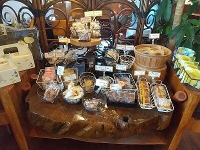 メルティスプーンの焼き菓子が並ぶ写真
