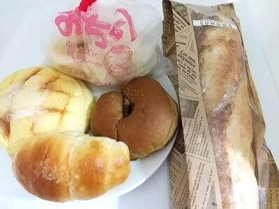 sumomo志布志の買ったパンの写真