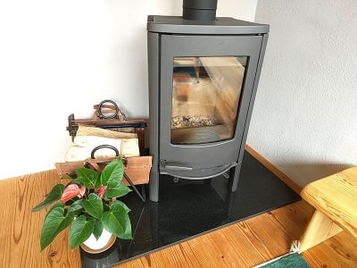 cocoの暖炉の写真