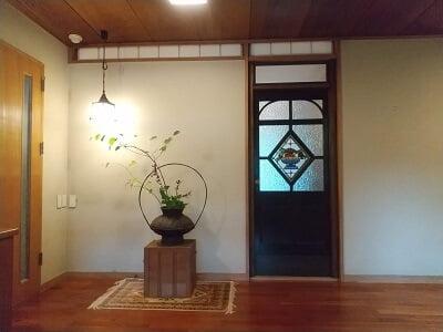 まりん'sガーデンの玄関内側の雰囲気の写真