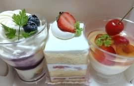 パティスリールヴェールの買ったケーキの写真