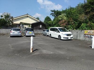 沖縄酒楽やがての駐車場の写真