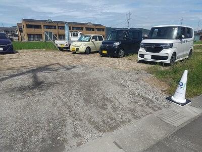 けせらせらの隣の駐車場の写真
