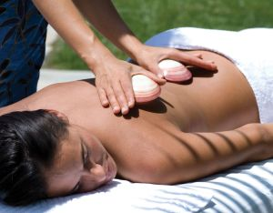 A private session of in home massage in Delray beach Florida by Relaxed Living.