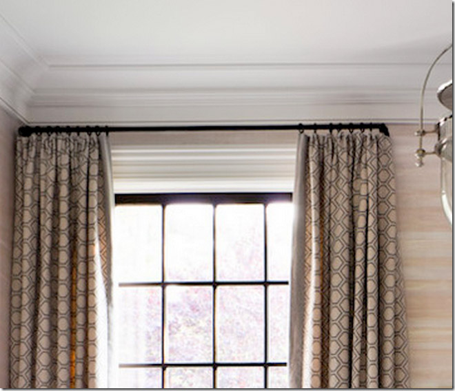 Window Treatment Rods And Finials