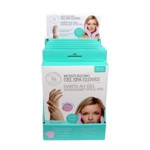 Moisturizing gel spa gloves