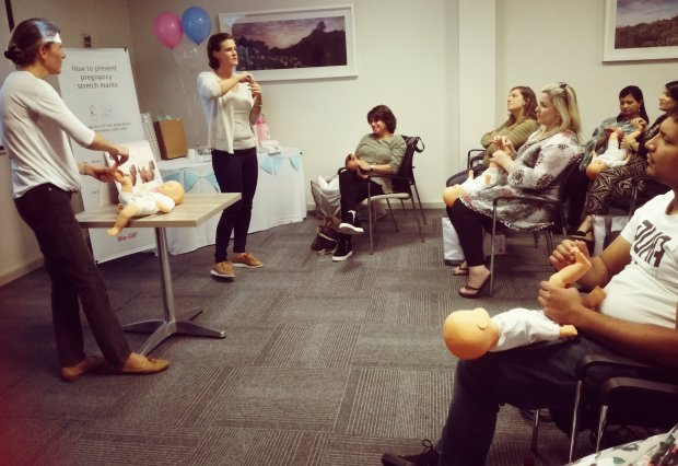 Liesl Hansen and Lisa Townsend share their learnings around baby massage techniques.