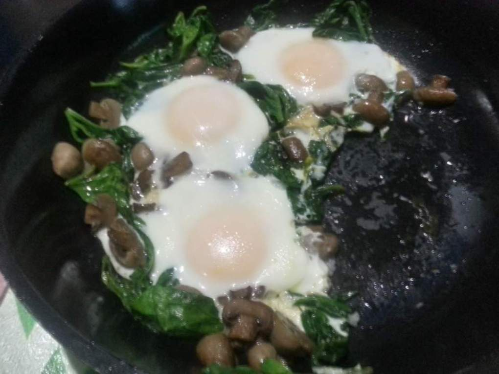 egg spinach