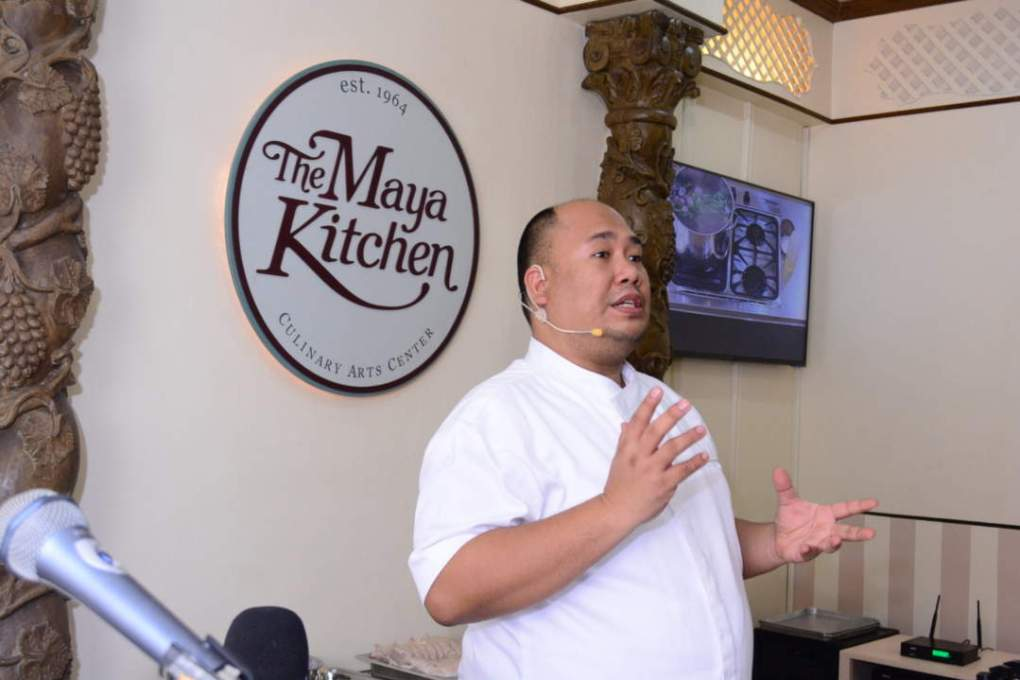 Chef Tatung at The Maya Kitchen