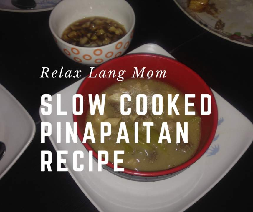 Slow Cooked Papaitan Recipe