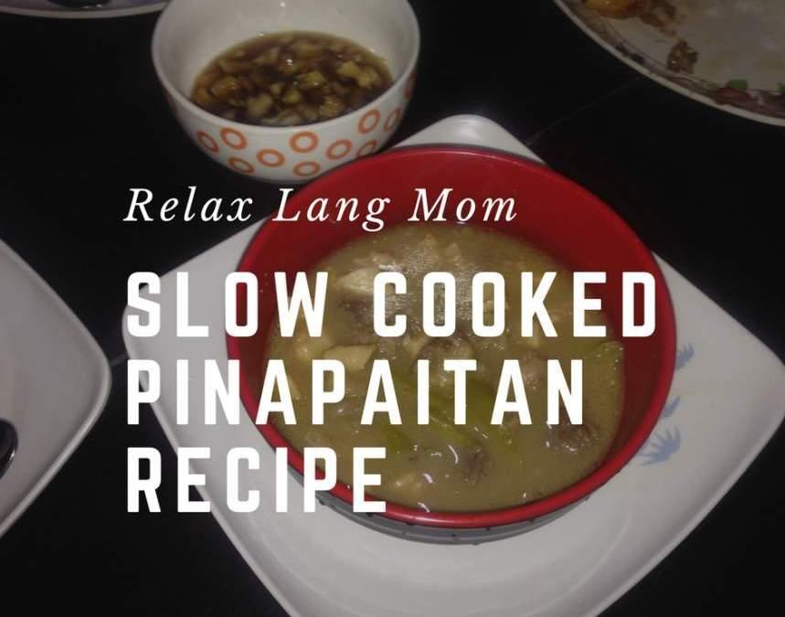 Slow Cooked Pinapaitan Recipe