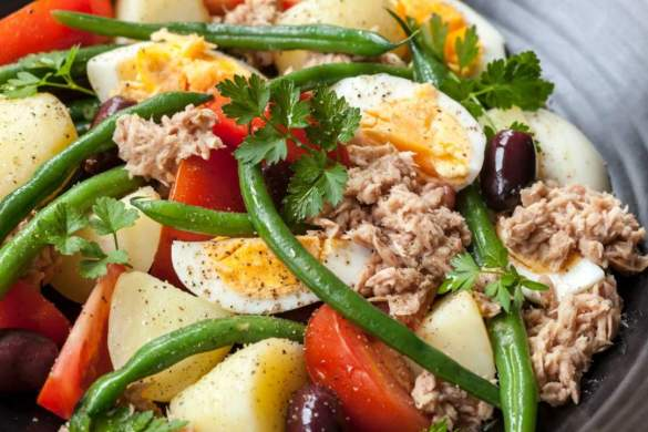 Salad Nicoise | Relax lang Mom - Healthy family cooking blog