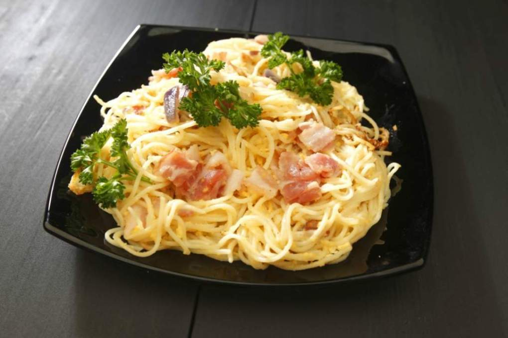 Filipino carbonara recipe