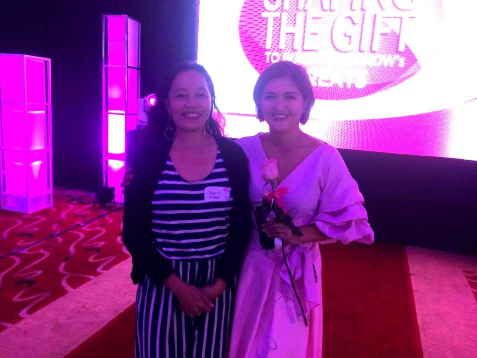 gifted child event with promil (Ms Dimples Romana and April Pagaling) -Relax lang Mom FIlipino Food Blog and recipes